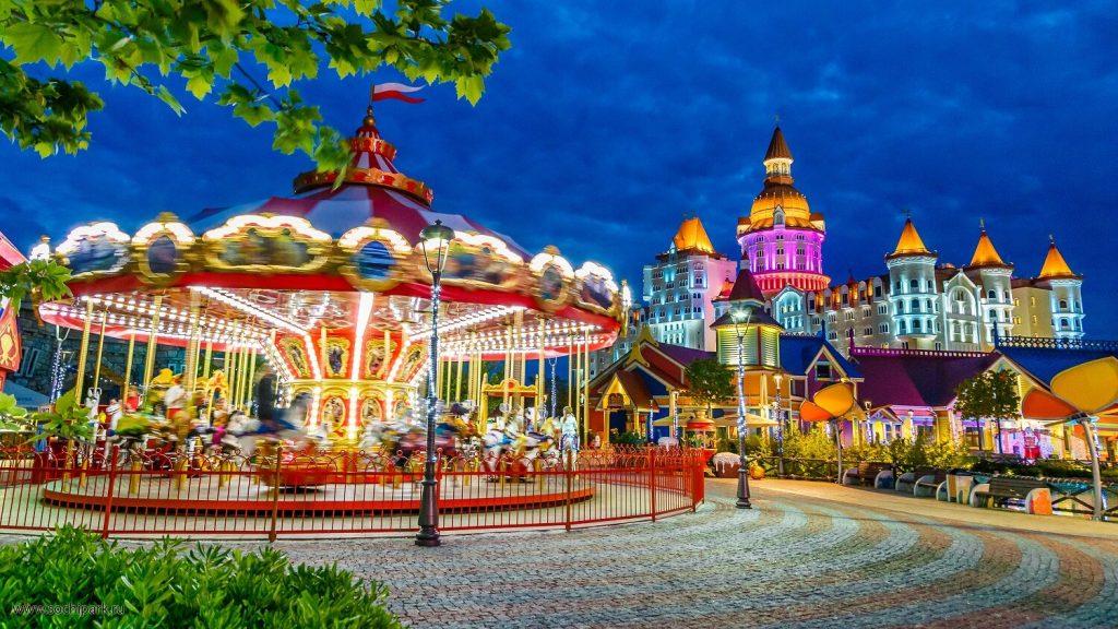 Сочи отель для детей олимпийский парк