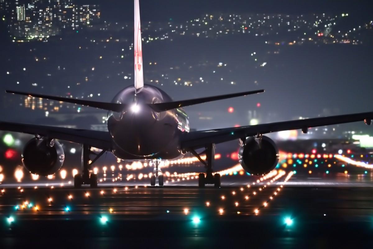полет в ночном городе картинка настоящая роскошь